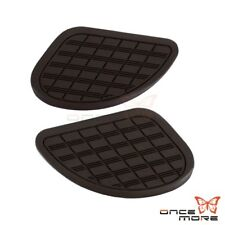 Motorcycle British Cafe Racer Gas Tank Knee Pads Rubber Protection 3M Universal