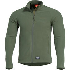 Pentagon Arkos Fleece Sweater Mens Jacket Soft Warm Army Hiking Outdoor Olive