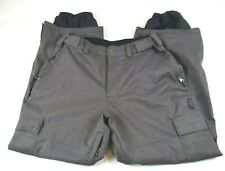 Sessions Waterproof Deluxe Mens XL Gray Snowboard Ski Snow Pants