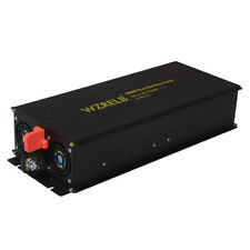 2000W Pure Sine Wave Inverter 24V to 120V DC to AC Solar Car Power Inverter