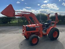 More details for kubota b2410 compact tractor with front loader