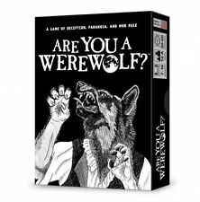 Are You A Werewolf by Looney Labs. Deception Paranoia & Mob Rule. New and sealed