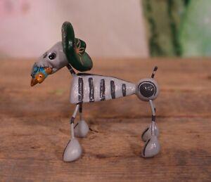Day of the Dead Skeleton Dog Sombrero Sea Turtle Handmade Puebla Mexico Folk Art