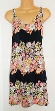 New last size 14 floral border summer shift dress Holiday Beach SALE