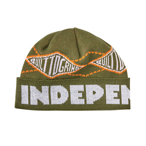 Independent Skateboard Beanie Built to Grind Pivot Army
