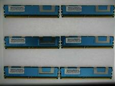 24GB 6x4GB PC2-5300 ECC FB-DIMM IBM x3500 Type 7977 Equivalent 46C7420