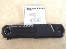 NEW - ROTOR HAWK L/H 165MM BLACK BB30 PF30 30MM CRANK ARM MTB - LEFT HAND LH
