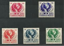 MEXICO # C143-147 MHG INTER-AMERICAN CONFERENCE