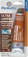 Permatex 81878 ultra copper maximum temperature RTV silicone gasket maker 3oz