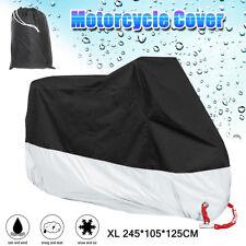 XL Waterproof Motorcycle Motorbike Scooter Cover Outdoor Rain Dust Sun Resistant