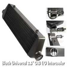 """UNIVERSAL INTERCOOLER 27x7x2.5  2.5"""" Inlet/Outlet Tube and Fin"""