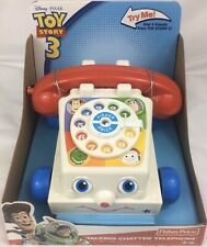 Disney Pixar Toy Story 3 Talking Chatter Telephone Fisher Price