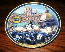 Notre Dame Limited Collector's Plate by Bradford Exchange