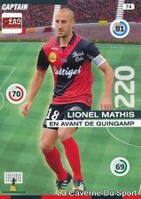 074 LIONEL MATHIS FRANCE EAG GUINGAMP CARD ADRENALYN 2016 PANINI
