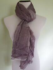 Calvin Klein aubergine purple oversize scarf wrap AZ17