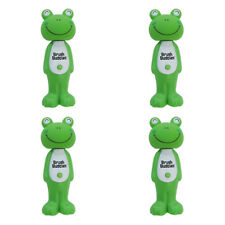 4X BRUSH BUDDIES POPPIN' LOUIE FROG SOFT TOOTHBRUSH ORAL DENTAL TEETH PROTECT