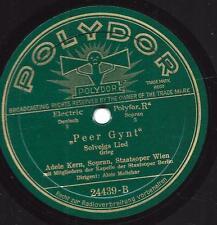 Adele Kern Staatsoper Wien : Peer Gynt - Solveigs Lied + Margarete-Faust