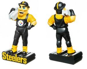 Pittsburgh Steelers Mascot Statue Steely McBeam Collectible NFL Football