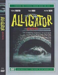 Alligator (1980) Robert Forster / Robin Riker / Michael Gazzo DVD NEW *FAST SHIP