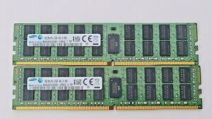 2x Samsung 16 GB DDR4-2133 PC4-2133P M393A2G40DB0-CPB 2Q M 1,20V Server Ram