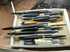 Parker And Other Brands Desk Pen Lot All Included