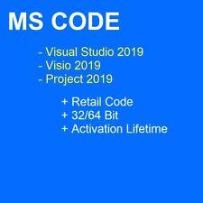 MULTI HOST Studio Visual Enterprise|Visio|Project Professional Ver 2019 USB