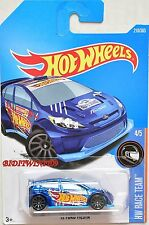 HOT WHEELS 2017 HW RACE TEAM '12 FORD FIESTA #4/5 BLUE
