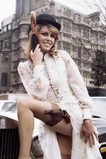 Joanna Lumley Stockings Gun & Garter Poster Avengers 11x17 Mini Poster