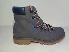 Tommy Hilfiger Size 10.5 M JECKEL Gray Hiking Boots New Mens Shoes
