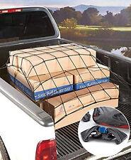 """HD Bungee Cargo Net 60"""" X 78"""" 24 Hooks 5FT X 6.5FT Pick up Truck Cargo Net"""