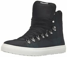 new $560 DSQUARED DSQUARED2 Alfredo High Top Sneakers Shoes  Sz. US 10.5