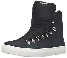 new $560 SQUARED DSQUARED2 Alfredo High Top Sneakers Shoes  Sz. US 10.5