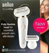 Braun Silk-épil 9 Flex Wet & Dry Epilator with Flexible and Head Anti-Slip Grip