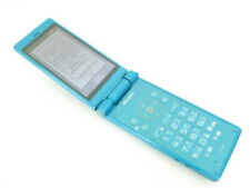 SHARP AQUOS KEITAI SH-06G DOCOMO Android Flip Phone Unlocked Blue Green japan