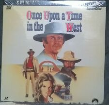 """""""Once Upon a Time in the West"""" Sealed Extended Play Laserdisc 1968/1994 PG"""
