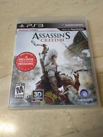 Assassin's Creed III Sony PlayStation 3 Ubisoft Mature DTS Havok gameware