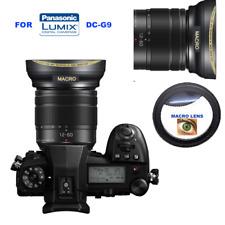 HD WIDE ANGLE LENS + MACRO FOR  PANASONIC LUMIX DC-G9 W 12-60mm f/3.5-5.6 ASPH