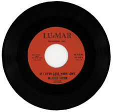 """HAROLD SMITH  """"IF I EVER LOSE YOUR LOVE c/w SKIPPIN' """"  NORTHERN SOUL"""