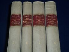 1856-1862 EXPOSE DES APPLICATIONS DE L'ELECTRICITE DU MONCEL 4 VOLUMES- KD 3486C