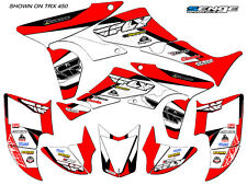 TRX 700XX TRX 700 XX GRAPHICS KIT FOR HONDA ATV QUAD STICKERS DECALS DECO SENGE
