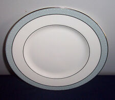 PATTERN ETUDE BY ROYAL DOULTON CHINA # 45003 BREAD & BUTTER PLATE WHITE ON GRAY
