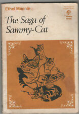 Ethel Mannin - Saga Of Sammy Cat 1st Ed 1969 Softback