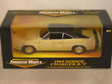 1969 DodgeCharger R/T 1/18 scale Limited Edition  Die Cast New Listing Black Box