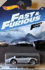 Hot wheels fast and furious Corvette Grand Sport. No 5 of 8 NEW And Sealed 1/64