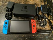 Nintendo Switch HAC-001(-01) 32GB Console with Blue/Red Joy‑Con