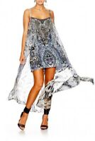 Camilla Franks Hush Hush Mini Dress With Long Overlay- Size Large