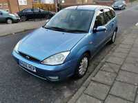 Ford Focus 2.0 Ghia 2002 Petrol Manual 74k Mot Ford  Good Service History (ULEZ)