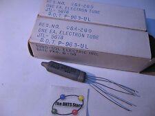 JTL-5678 Vacuum Tube Valve Tung-Sol - Untested Original Box 1958 Qty 2