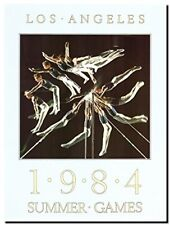 1984 Los Angeles Olympics Gymnastics Games Art Print Poster (18x24)