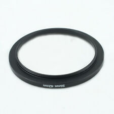 55-62mm 55mm to 62mm Step-Up Metal Filter Ring Adapter Black 52-62